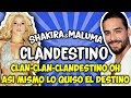Shakira Maluma Clandestino Letra mp3