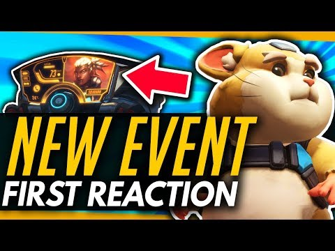 Overwatch | STORM RISING EVENT - Cosmetics & Gameplay First Reaction!