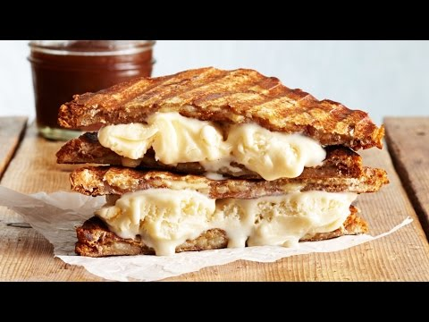 How to Make Delicious Grilled Cheese Ice Cream Sandwiches | Wow! | Cooking Light