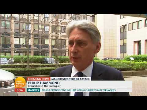 Philip Hammond Reacts to the Manchester Arena Bombing | Good Morning Britain