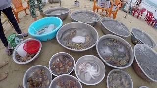 Вьетнам Муйне отель Sailing Bay Beach Resort 4* прозрачное море и морепродукты.