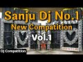 Dj Sanju Hi Tech Basti No.1 !! Compatition No.1  Full Vibration No1  Vol No.1
