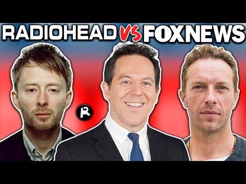 Radiohead VS Fox News! Did Radiohead Rip Off Coldplay?!