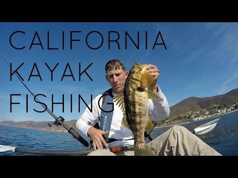 California Offshore Kayak Fishing