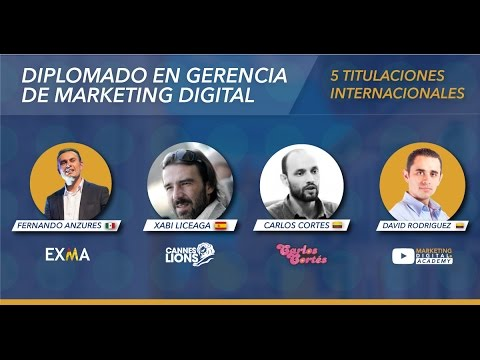 Diplomado en Gerencia de Marketing Digital Bogotá