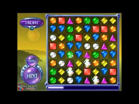 Bejeweled 2 (PC) - Classic Mode (Take 2: 18 Levels)[1080p60]