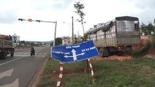 Tin Tức 24h Mới Nhất: Tiềm ẩn nguy cơ tai nạn giao thông tại đường vành đai TP Buôn Ma Thuột