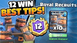 Video NEW 12 WINS ROYAL RECRUITS CHALLENGE GAMEPLAY! | Clash Royale | HOW TO WIN ROYAL RECRUITS CHALLENGE! download MP3, 3GP, MP4, WEBM, AVI, FLV Juli 2018
