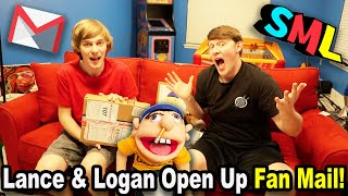 Lance and Logan OPEN FAN MAIL!!!