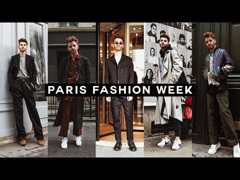 PARIS FASHION WEEK 2018 - Vlog & Outfits // Imdrewscott