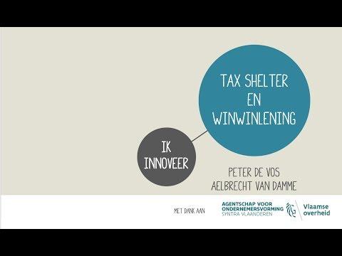 Opname webinar Tax Shelter en WinWinlening 20180413