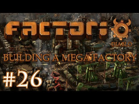 Factorio - Building a Mega Factory: Part 26, making blue belt and cleaning up