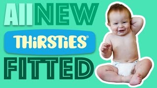 Thirsties Natural OS fitted Cloth Diaper Review - NEW!!! - Faiths Attic