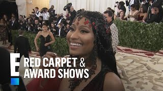 "Nicki Minaj Brings the ""Bad Guy"" to the 2018 Met Gala 