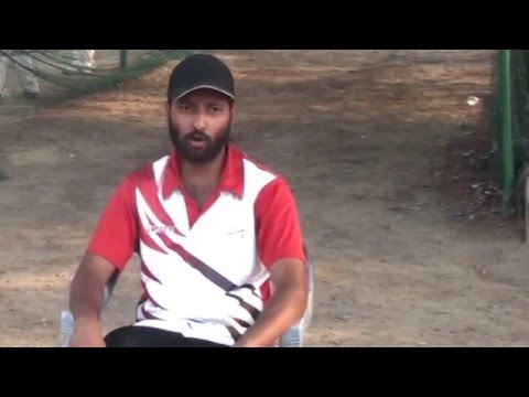 Exclusive interview with Prashant Sharma Coach of Turf Cricket Academy