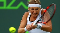 2016 Miami Open Quarterfinals   Timea Bacsinszky vs Simona Halep   WTA Highlights
