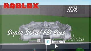 FBI SUPER SECRET MILITARY BASE TOUR AUF BLOXBURG (Roblox)