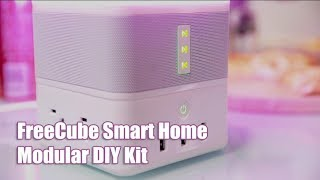 BG Ads | Get rid of messy cables | FreeCube smart home design Modular DIY Kit