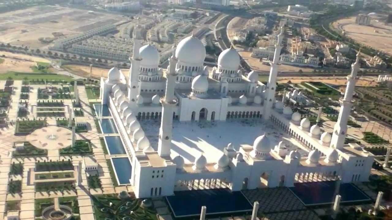 Faisal 3d Name Wallpaper Helicopter View Of Sheikh Zayed Grand Mosque Abu Dhabi
