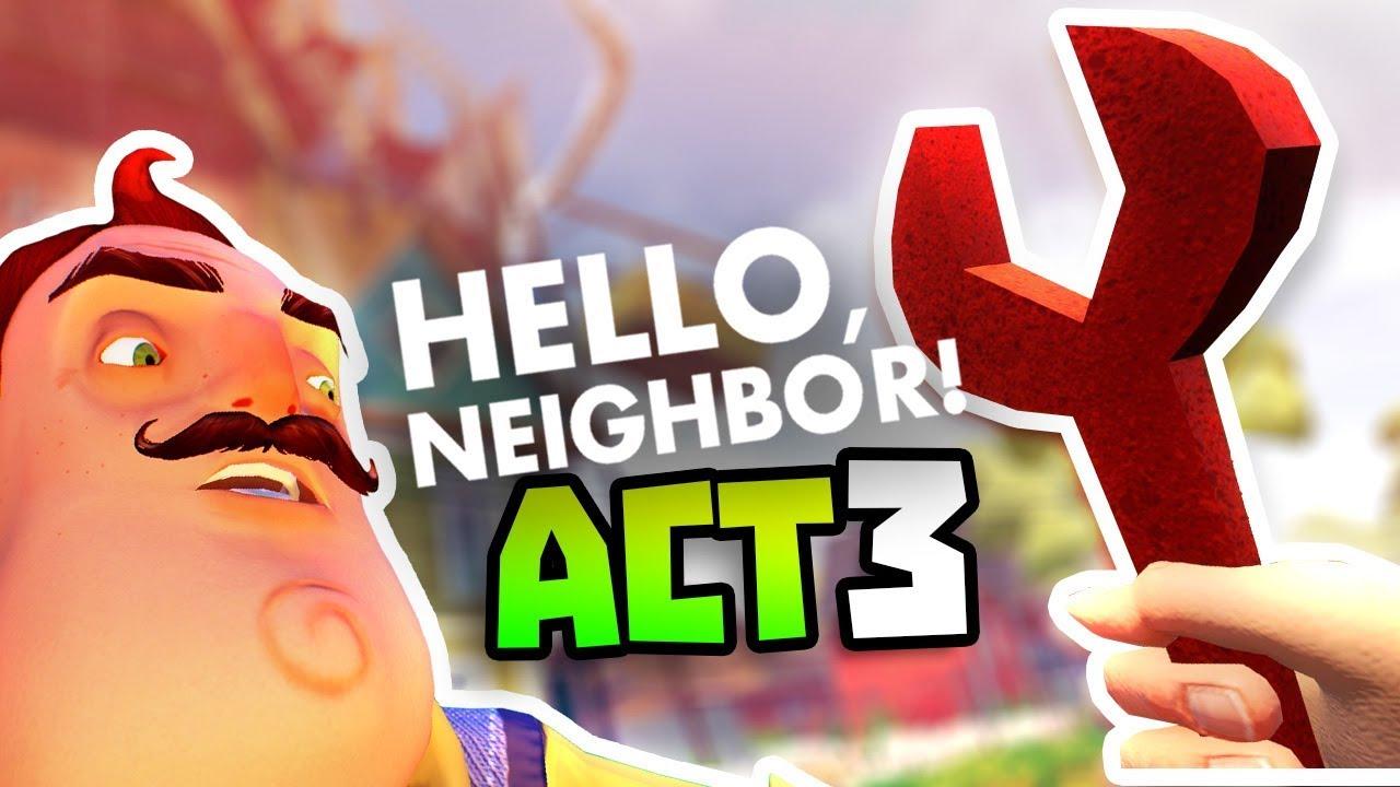 FINDING THE WRENCH & UNLOCKING BASEMENT - Hello Neighbour - New Hello  Neighbor Full Gameplay