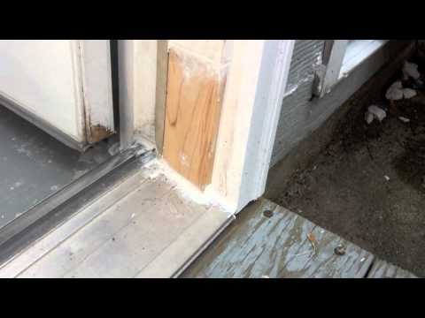 exterior door jamb plastic solution for rotten exterior door frame youtube