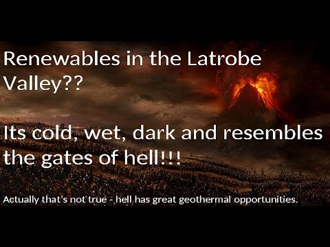 Solar, Wind and Hydro for Latrobe Valley