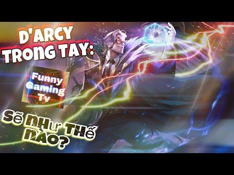 LIÊN QUÂN MOBILE | Bạn đã mua D'arcy nhưng không biết cách Chơi & Lên Đồ và Ngọc! Hãy xem Clip này!