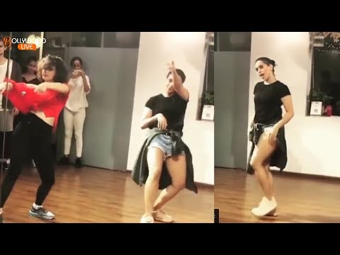 Viral! Dangal Girls Fatima Sana Shaikh and Sanya Malhotra Hot Dance Video | Bollywood Live