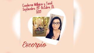 Escorpio ♏️ Se Arrepienten! 📚🕯🔮CM & Tarot SEP. 15- Octubre 15, 2019