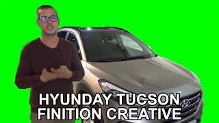 La Hyundai Tucson finition créative - Les occasions du lion