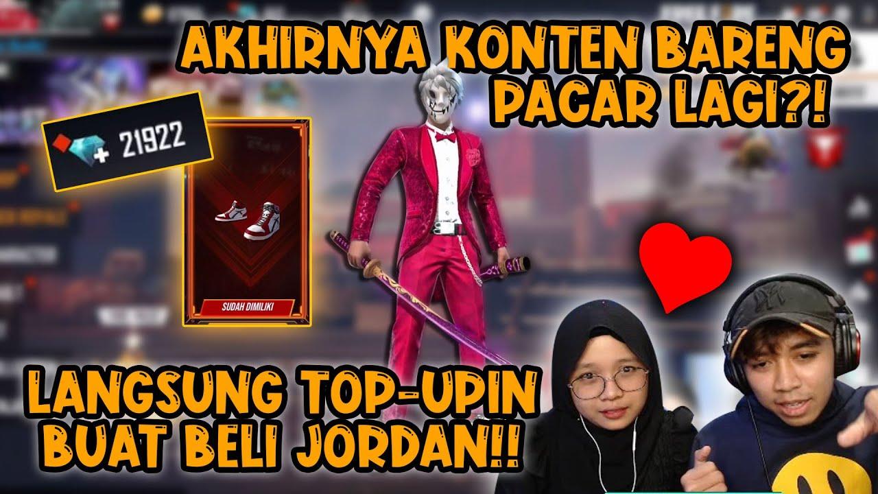 TOP UP'IN PACAR BUAT BORONG2 JORDAN!! KATANYA SKINNYA BIASA AJA 🤣