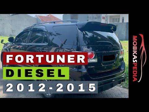 Harga Toyota Fortuner Diesel Bekas Murah 2012 Tahun 2013 G 2014 2015 Vnt