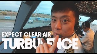 BANJARMASIN! , Expect Clear Air Turbulence - by Captain Vincent Raditya ( BATIK AIR PILOT )