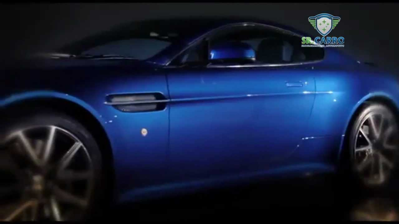 Sr Carro Aston Martin V8 Vantage 2013 Youtube