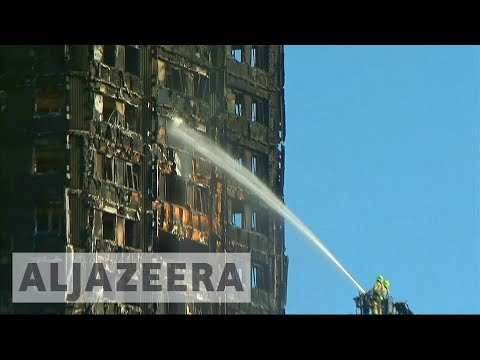 Locals demand answers about London's Grenfell fire