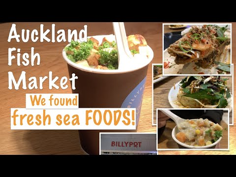 4K | Foodtrip Auckland Fish Market & Found Great Seafoods