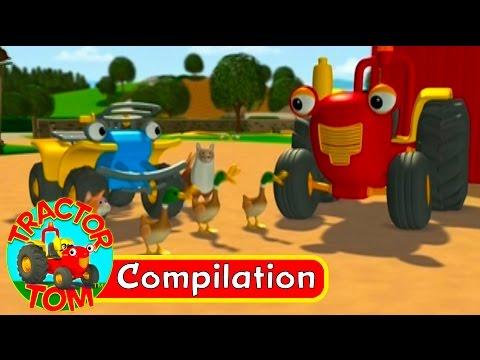 Tracteur Tom - Compilation 4 (Français)