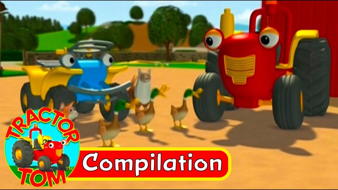 Tracteur tom compilation 4 fran ais youtube - Tracteurs tom ...