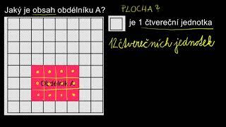 4. ročník MATEMATIKA - Výpočet obsahu obdélníku