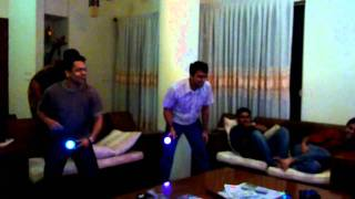 Table Tennis match on Ps3 Move