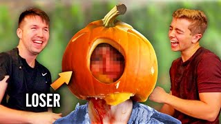 EXTREME Halloween Try Not To Laugh Challenge