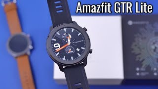 Amazfit GTR Lite Hands On Review & Comparison to Amazfit GTR