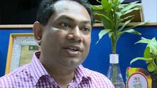 Hassan Ahamed Chowdhury Kiron with Bitorko Bikash News 3