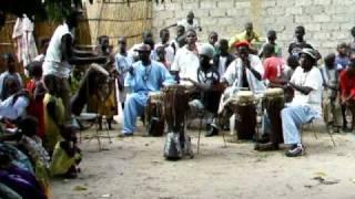 Serere Drumming