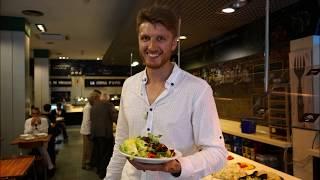 Изюм, свекла, семяна | Фирменный салат | А что есть-то в салат-баре?