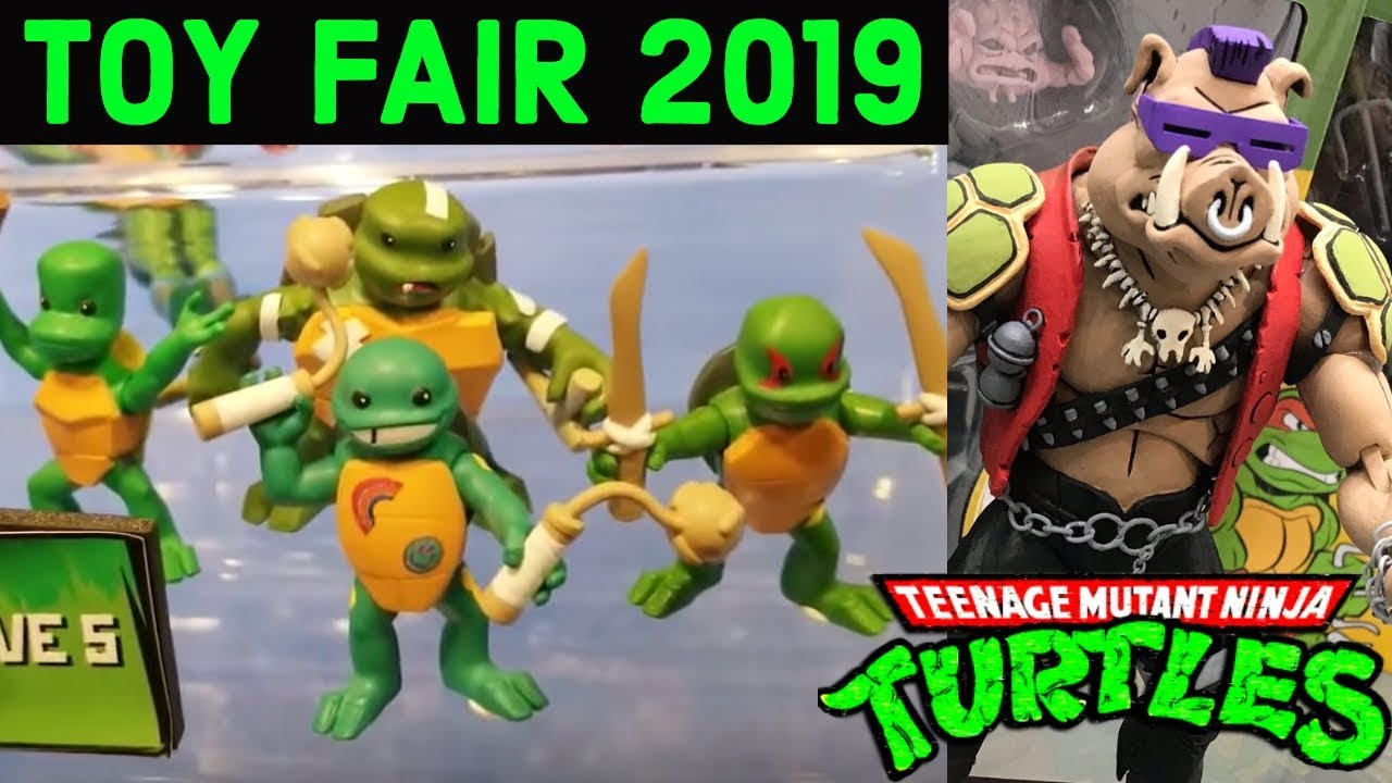 Tmnt Toy Fair 2019 Rise Of The Tmnt 1987 Target