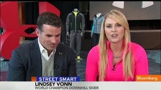 Lindsey Vonn: Under Armour Designed for All Shapes