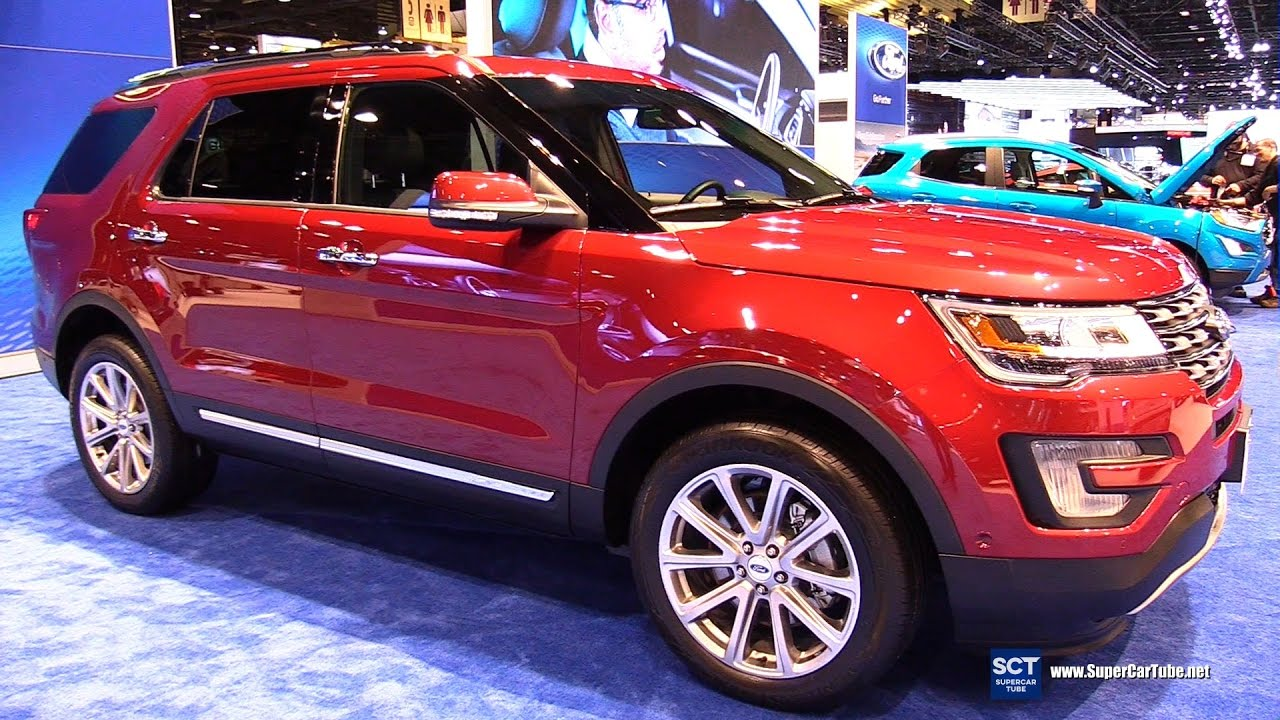2017 Ford Explorer Limited Exterior And Interior Walkaround 2017
