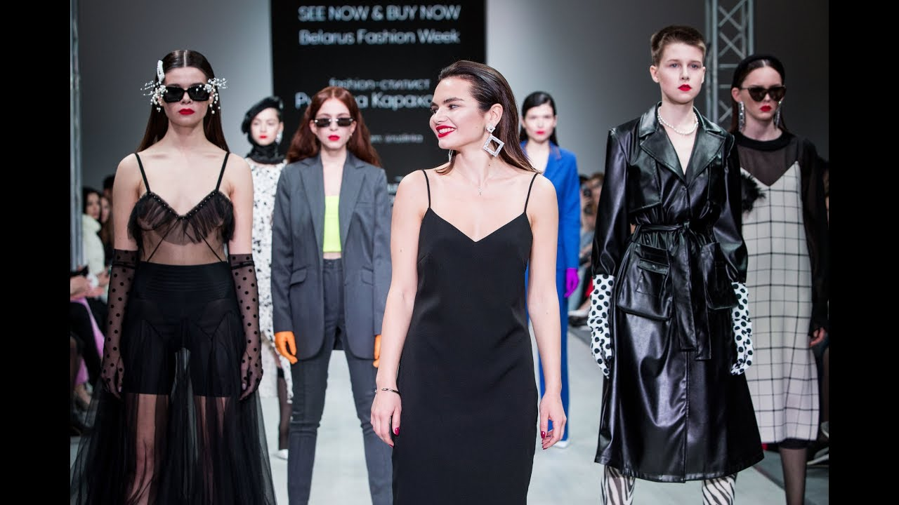 BELARUS FASHION WEEK FALL-WINTER 2019/20 : See Now & Buy Now Fashion Show