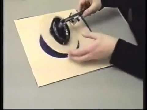 Uitzonderlijk Ovalen snijden door Vivian C. Kistler - YouTube CM24